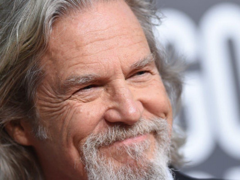 Hollywood actor Jeff Bridges fue diagnosticado con cáncer a los 70 años