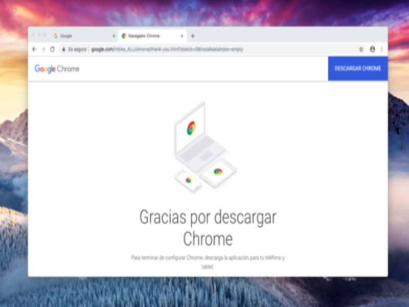 Navegador web Google Chrome ✅